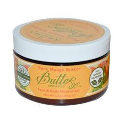 Aroma Naturals, Pure Mango Butter, Face & Body Moisturizer, 3.3 oz (95 g)
