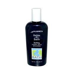 Aubrey Organics, Relax-R-Bath, Herbal Bath Emulsion, 8 fl oz (237 ml)