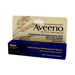 Aveeno, Active Naturals, Calamine & Pramoxine HCl, Anti-Itch Cream, 1 oz (28 g)