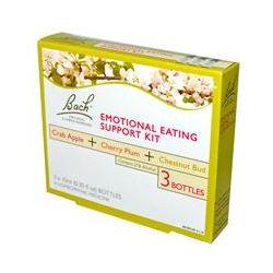 Bach Original Flower Essences, Emotional Eating Support Kit, 3 Bottles (0.35 fl oz (10 ml) Each
