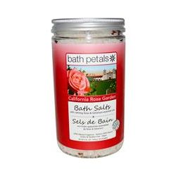 Bath Petals, Bath Salts, California Rose Garden, 40 oz (1133 g)