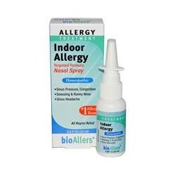 NatraBio, BioAllers, Indoor Allergy, Nasal Spray, 0.8 fl oz (24 ml)