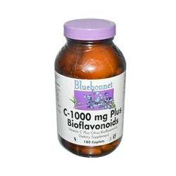 Bluebonnet Nutrition, C-1000 Plus Bioflavonoids, 180 Caplets
