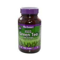 Bluebonnet Nutrition, EGCG Green Tea Leaf Extract, 120 Vcaps