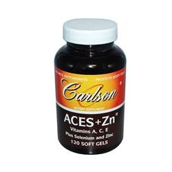 Carlson Labs, Aces + Zn, 120 Soft Gels