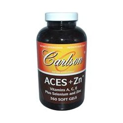 Carlson Labs, Aces + Zn, 360 Softgels