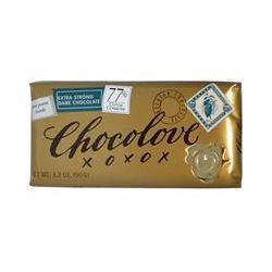Chocolove, Extra Strong Dark Chocolate, 3.2 oz (90 g)