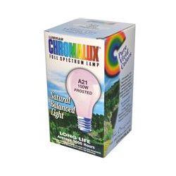 Chromalux, Lumiram, Full Spectrum Lamp, A21 150W Frosted, 1 Light Bulb