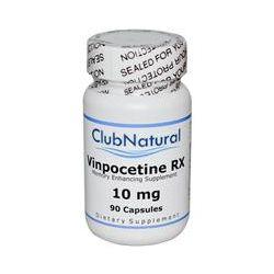 Club Natural, Vinpocetine RX, 10 mg, 90 Capsules