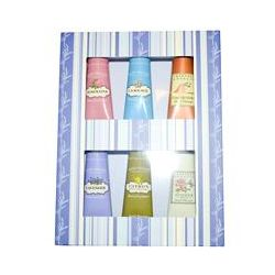 Crabtree & Evelyn ®, Hand Therapy Luxury Sampler, 6 Piece Kit, 0.9 oz (25 g) Each
