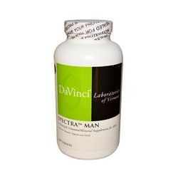 DaVinci Laboratories of Vermont, Spectra Man, Multiple Vitamin/Mineral, 240 Tablets