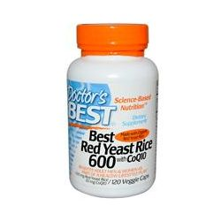 Doctor's Best, Best Red Yeast Rice 600, with CoQ10, 120 Veggie Caps