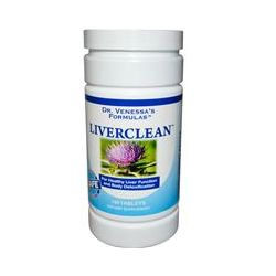 Dr. Venessa's, LiverClean, 100 Tablets