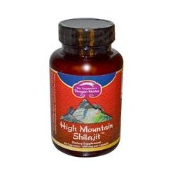 Dragon Herbs, High Mountain Shilajit, 500 mg, 60 Capsules