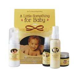 Earth Mama Angel Baby, A Little Something for Baby, Gift Set, 4 Piece Set