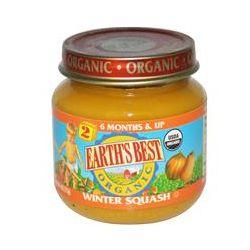 Earth's Best, Organic Baby Food, Winter Squash, 4 oz (113 g)