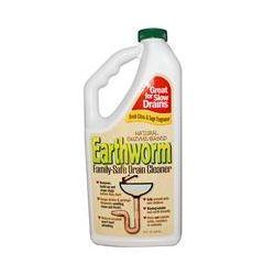 Earthworm, Family-Safe Drain Cleaner, Fresh Citrus & Sage Fragrance, 32 fl oz (946 ml)