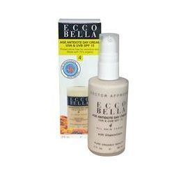 Ecco Bella, Age Antidote Day Cream, UVA & UVB SPF 15, 2 fl oz (60 ml)