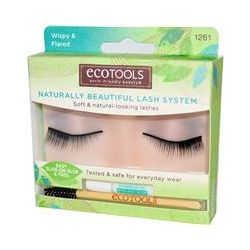 EcoTools, Naturally Beautiful Lash System, Wispy & Flared, 1 Pair of Lashes