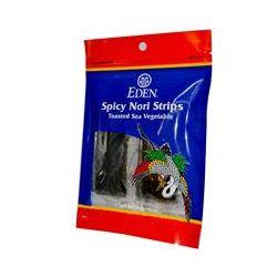 Eden Foods, Spicy Nori Strips, .47 oz (13.5 g)