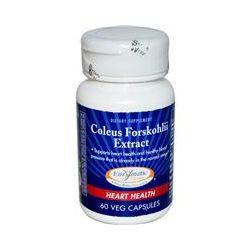 Enzymatic Therapy, Coleus Forskohlii Extract, Heart Health, 60 Veggie Caps