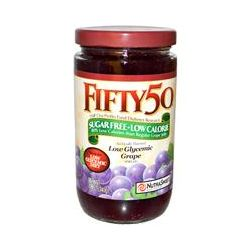 Fifty 50, Low Glycemic Spread, Sugar Free, Grape, 12 oz (340 g)