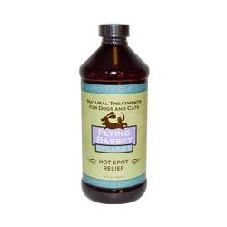 Flying Basset, Organics, Hot Spot Relief for Dogs and Cats, 16 fl oz (473 ml)