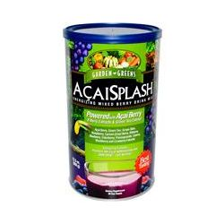 Garden Greens, AcaiSplash, Energizing Mixed Berry Drink Mix, 23.5 oz (669 g)