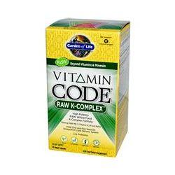 Garden of Life, Vitamin Code, Raw K-Complex, 60 Veggie Caps