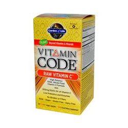 Garden of Life, Vitamin Code, Raw Vitamin C, 120 UltraZorbe Vegan Capsules