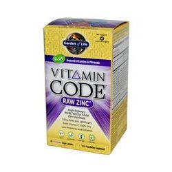 Garden of Life, Vitamin Code, Raw Zinc, 60 Veggie Caps