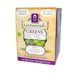 Genesis Today, GenEssentials Greens, 15 Packets, 0.5 oz Each