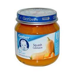 Gerber, 2nd Foods, Squash, 4 oz (113 g)
