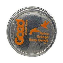 Good Clean Love, Body Candy, Spicy Orange, 2 oz
