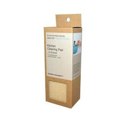 Goodbye Detergent, Kitchen Cleaning Pad, For Enamel, 2 pcs