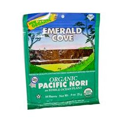Great Eastern Sun, Emerald Cove,Organic Pacific Nori, 10 Sheets, 0.9 oz (25 g)