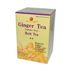 Health King, Herb Tea, Ginger, Caffeine Free, 20 Tea Bags, 1.41 oz (40 g)