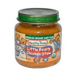 Healthy Times, Premium Organic Baby Food, Little Bear's Chicken Stew, Stage 2, 4 oz (113 g)