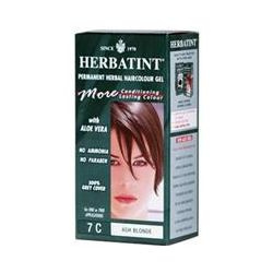 Herbatint, Permanent Herbal Haircolor Gel, 7C, Ash Blonde, 4.56 fl oz (135 ml)