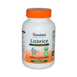 Himalaya Herbal Healthcare, Licorice, Gastric Support, 60 Caplets
