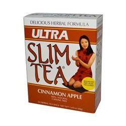 Hobe Labs, Ultra Slim Tea, Cinnamon Apple, Caffeine Free, 24 Herbal Tea Bags, 1.69 oz (48 g)