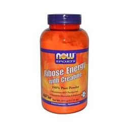 Now Foods, Sport, Ribose Energy with Creatine, 100% Pure Powder, 11.11 oz (315 g)
