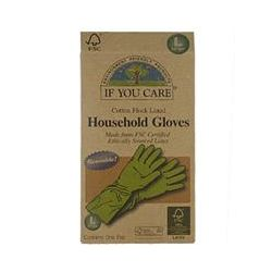 If You Care, Household Gloves, Reusable, Large, 1 Pair