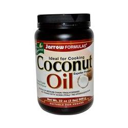 Jarrow Formulas, Certified Organic Coconut Oil, Expeller Pressed, 32 oz (908 g)