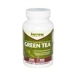 Jarrow Formulas, Green Tea, 500 mg, 100 Capsules