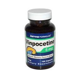 Jarrow Formulas, Vinpocetine, 5 mg, 100 Capsules