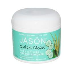 Jason Natural, Quick Clean, Makeup Remover, Fragrance Free, 75 Pads