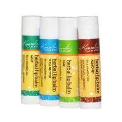 Kuumba Made, Herbal Lip Balms, 4 Pack, .15 oz (4.25 g) Each
