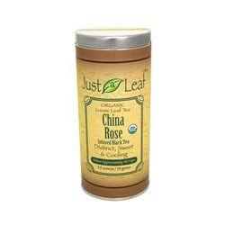 Just a Leaf Organic Tea, China Rose Infused Black Tea, 3.5 oz (99 g)