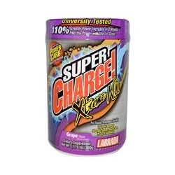Labrada Nutrition, Super Charge! Xtreme N.O., Grape Flavor, 1.76 lbs (800 g)